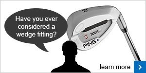Book yourself in for a wedge fitting