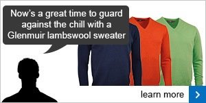 Glenmuir lambswool sweaters
