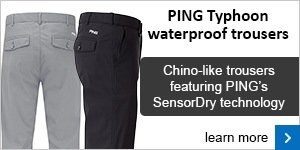 PING Typhoon trousers