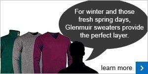 Glenmuir lambswool sweaters