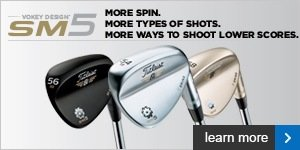 Titleist SM5 wedges