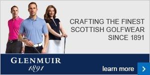 Club cresting with Glenmuir