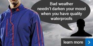 Gore-Tex 2L rain jacket
