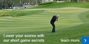 How to escape thick greenside rough