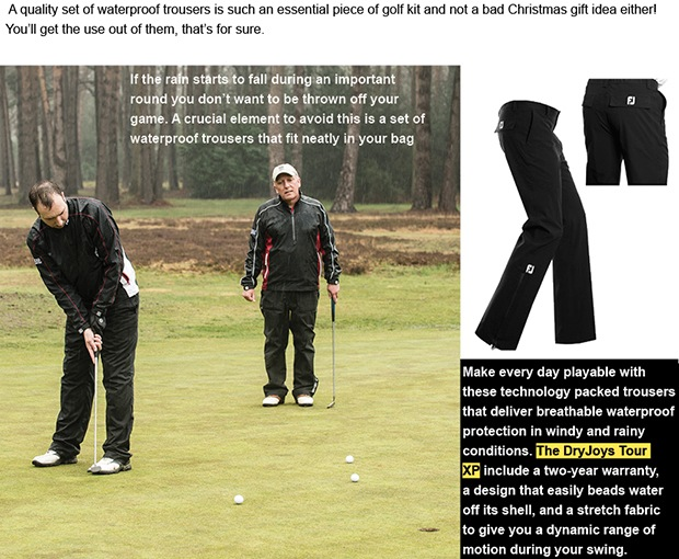 FootJoy waterproofs