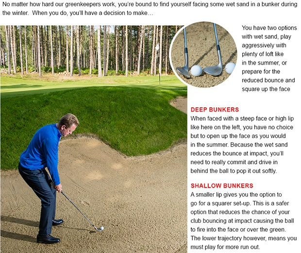 Golf bunker tip