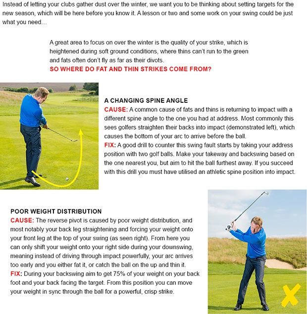 Golf coaching tip