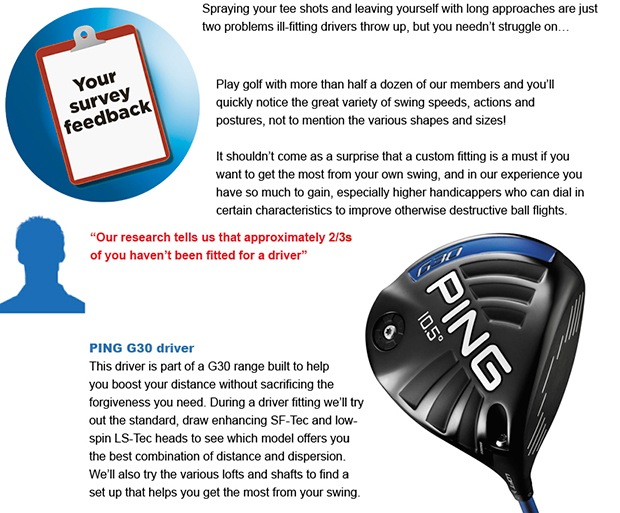 Make your driver your own for better results