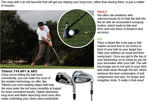 We can help you to master your iron play