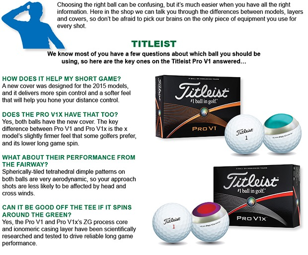 Selecting the right ball for you