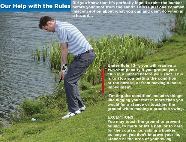 Our help with the Rules: grounding your club