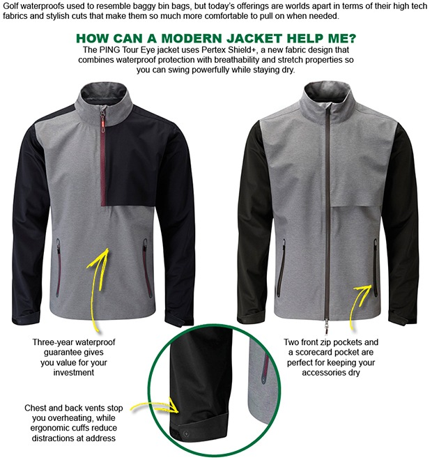 High quality outerwear a must for winter golf