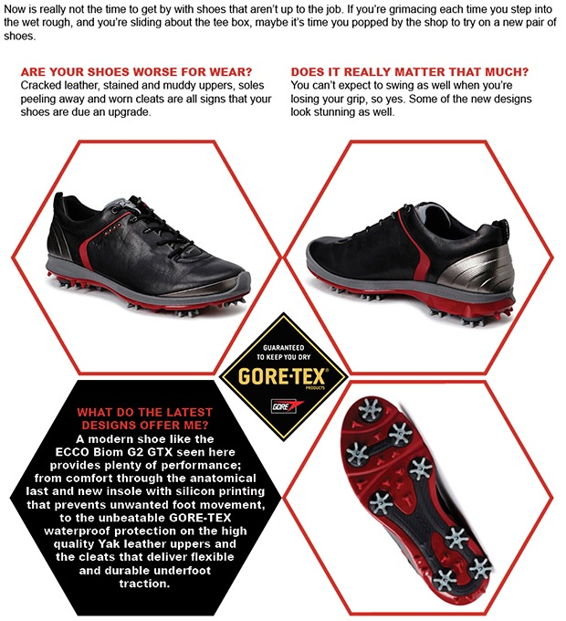 New golf shoes for 2016