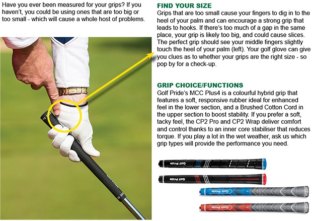 Your grip size matters - and we can help