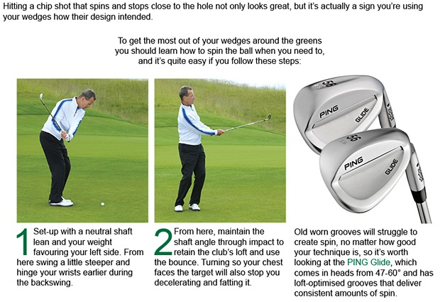 Spin your wedges and reap the rewards
