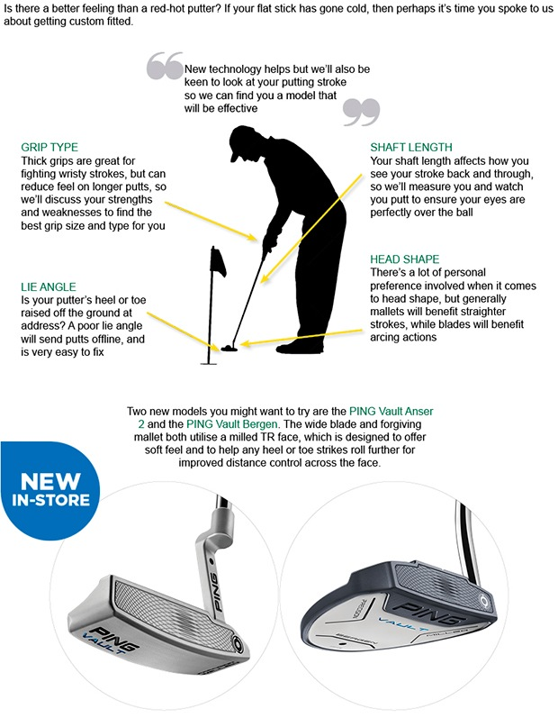 How hot has your putter been this season?