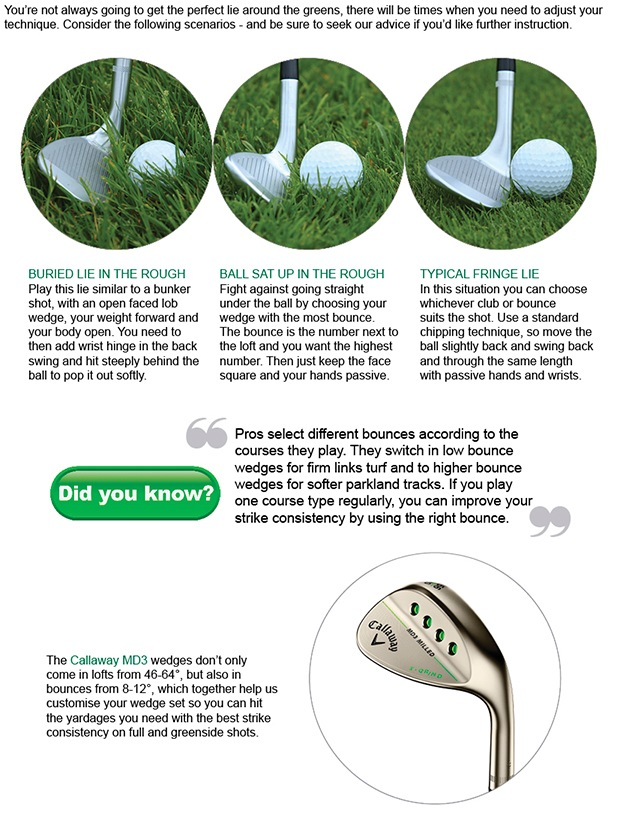 Wedge play tips to help you shoot lower scores