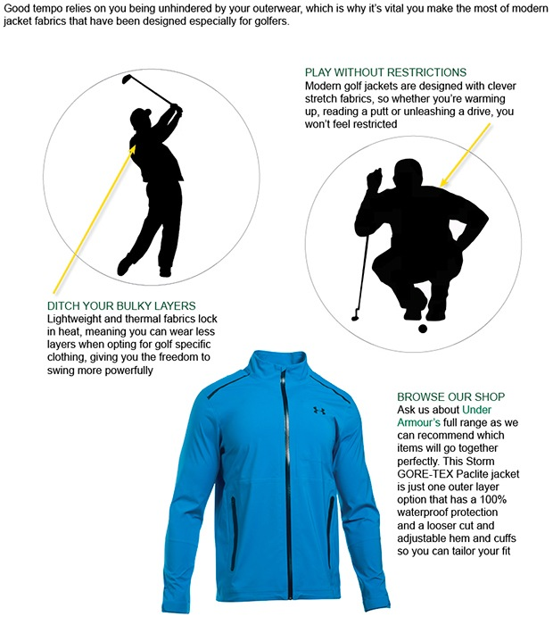 Great tempo requires great outerwear