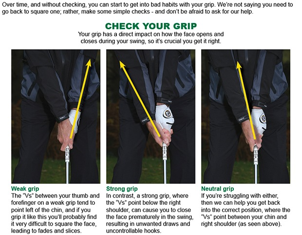 Is a poor grip costing you shots?