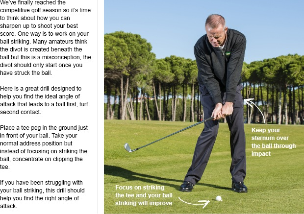 How to improve your iron play