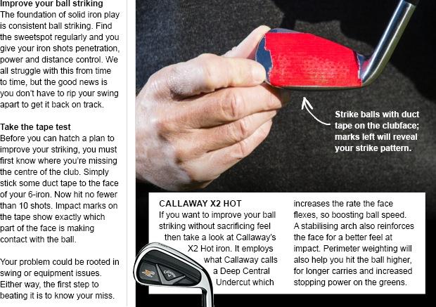 Callaway X2 Hot irons