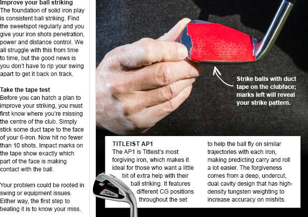 Take the first step towards consistent iron play