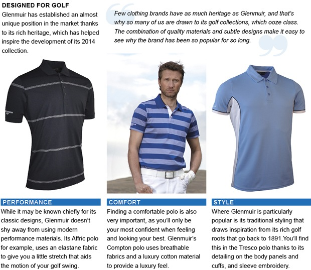 Give your golf wardrobe a lift this summer