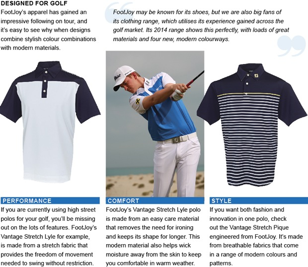 FootJoy golf clothing