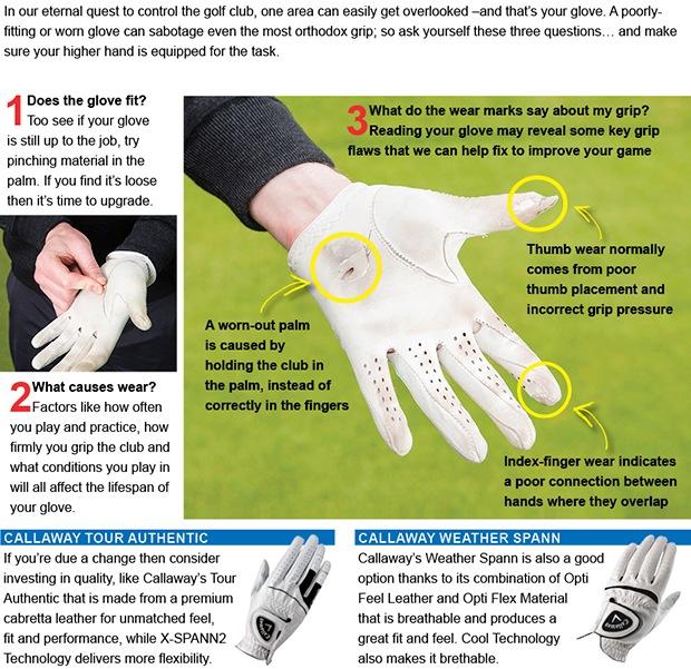Golf glove tips