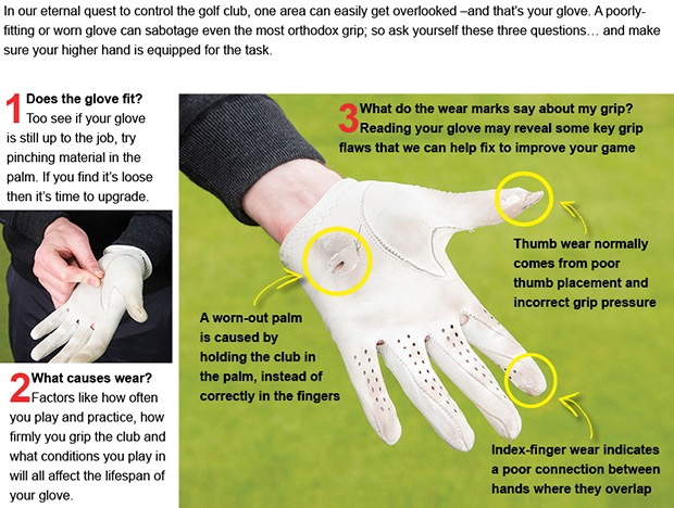 Golf glove tips