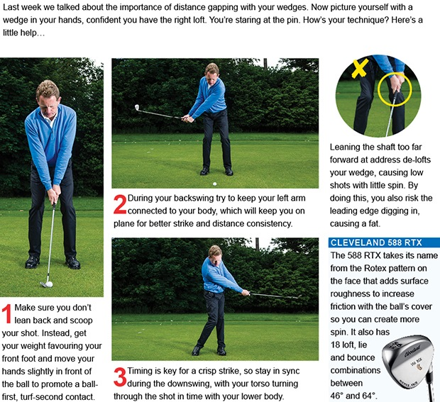 Attack the pin with perfect pitching