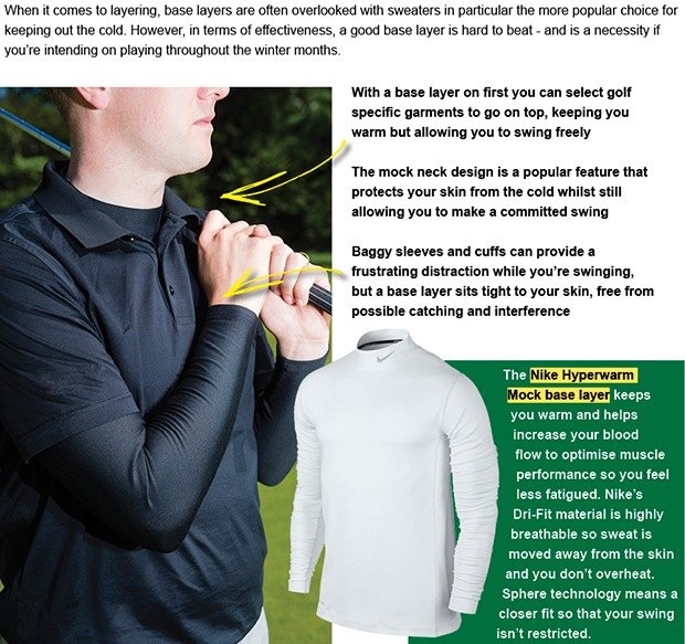 Nike Golf base layers