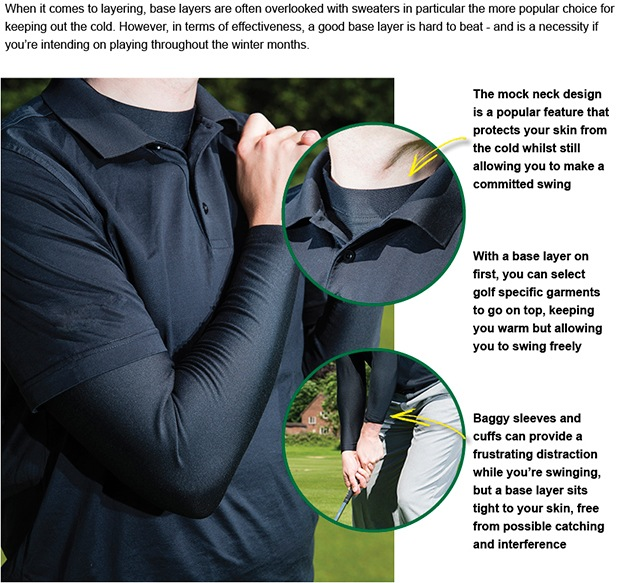 The base layer: a golfer's best friend