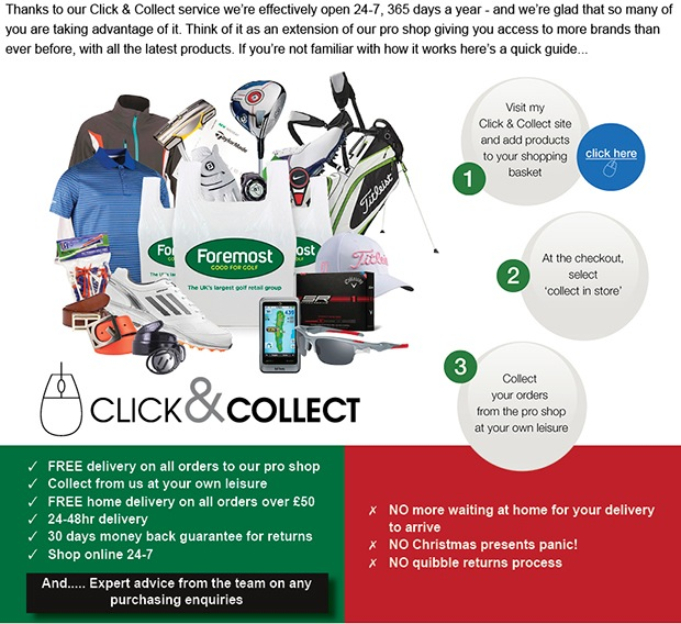 Foremost Click & Collect