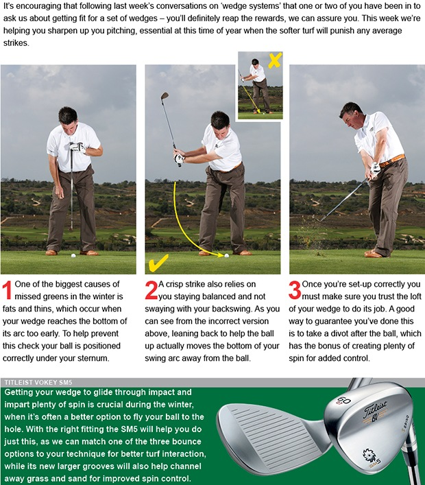 Master your wedge game and make more birdies