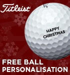Titleist ball personalisation - option 3