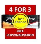 Titleist 4 for 3 last chance - 44.99