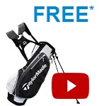 TaylorMade free bag - last chance