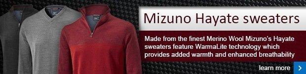 Mizuno Hayate sweaters