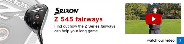 Srixon Z 545 fairway woods