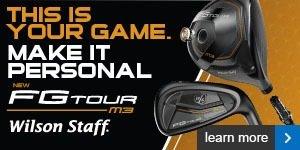 Wilson Staff FG Tour M3 range