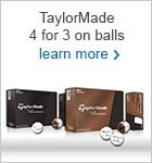 4 for 3 on personalised Tour Preferred golf balls