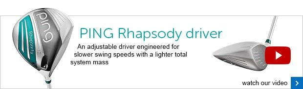 PING Rhapsody ladies driver