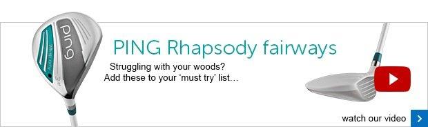 PING Rhapsody ladies fairway woods