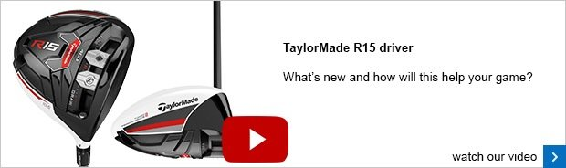 TaylorMade R15 driver - SM