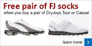 FJ DryJoy Free sock promotion
