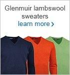 Glenmuir lambswool men's sweaters