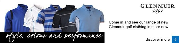 Glenmuir men's golf clothing