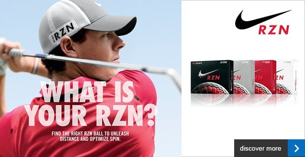 Nike RZN golf ball line-up