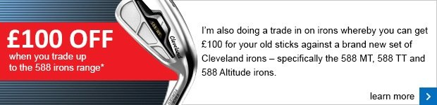 Cleveland irons trade in- £100 off